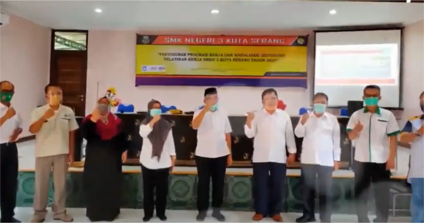 Penyusunan Program Kerja dan Sosialisasi Retooling Pelatihan Kerja SMKN 3 Kota Serang